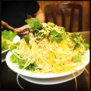 Vietnam salade